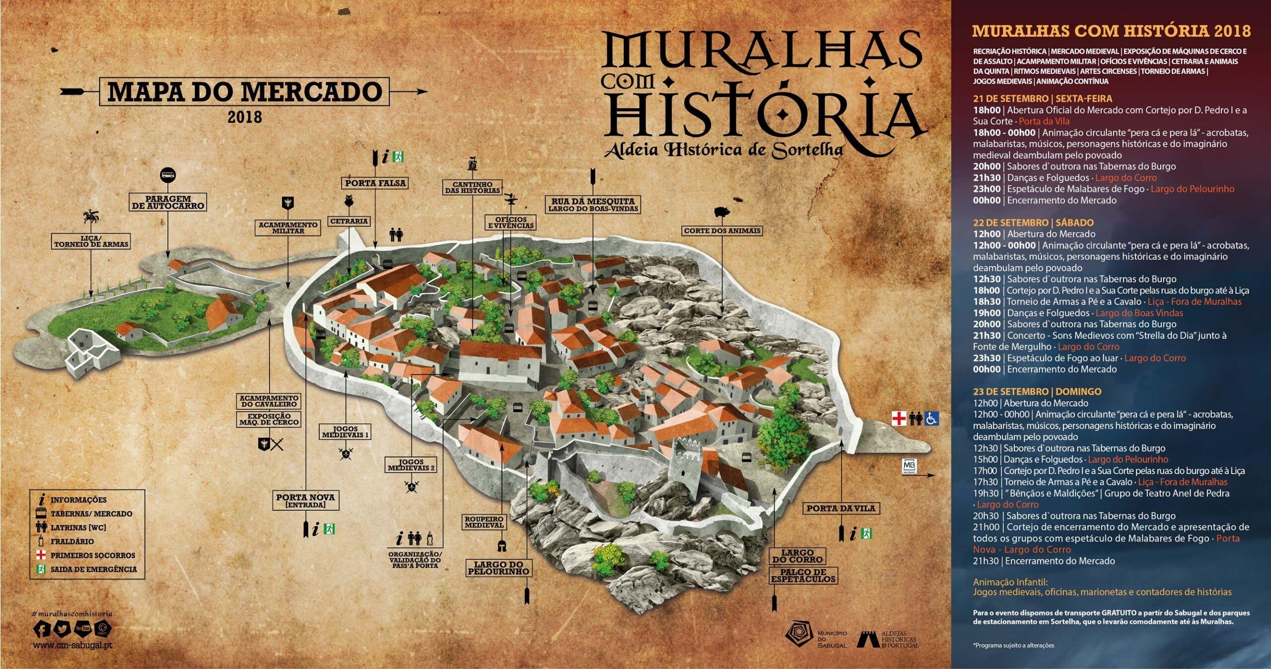 Muralhas Com Historia Sortelha Municipio Do Sabugal